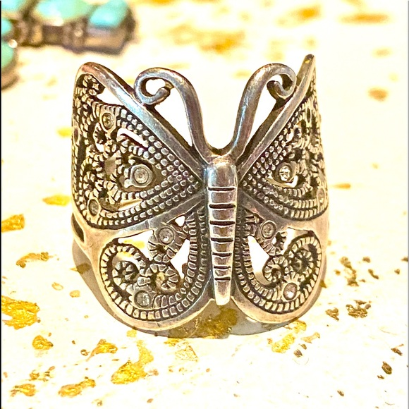 Vintage 🔥 90s Butterfly Ring